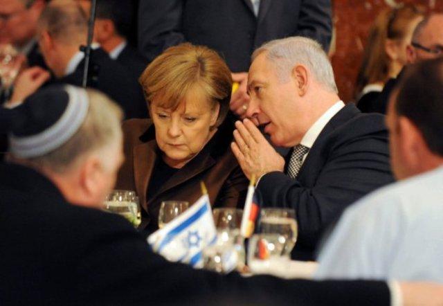 Benjamin Netanyahu meets Angela Merkel